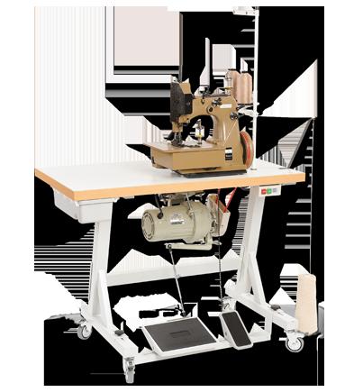kk812-m_carpet-sewing-machine-on-bench